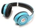 Beats By Dr Dre Studio Blue Headphones