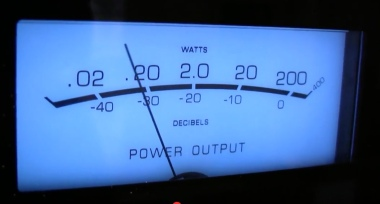 McIntosh VU-Meter